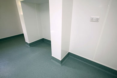 Altro Whiterock hygienic wall cladding picture